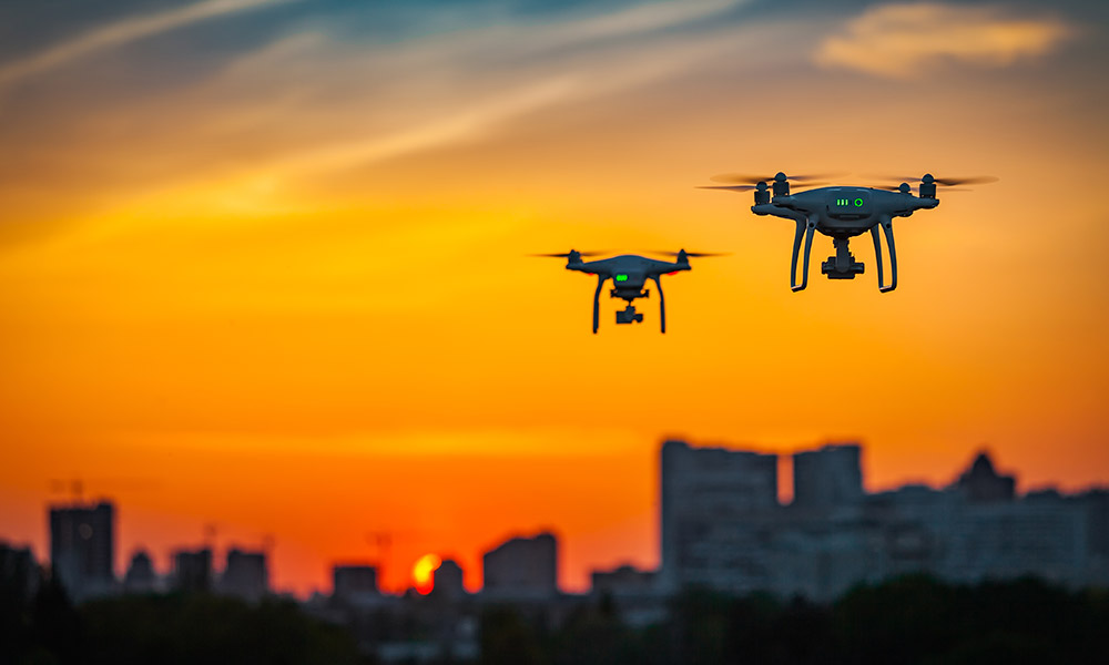 Drone Roof Survey London